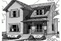 Small House Plans- Bigger Isn't Always Better / by Gloria Otto