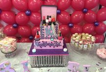 Girls birthday party cakes London