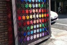 Yarnbombing and other Street arts