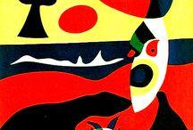 Art - Joan Miro / by Carol Farrow