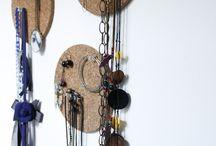 rangement bijoux / plein d'idées déco pour ranger ses bijoux !