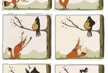 vrana a líška