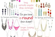 Jewelry and Acessories  for round face