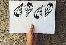 my printmaking tutorials / by Esraa El-Naggar