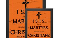 Orange Cross Project / The Orange Cross Project is a grassroots effort to raise awareness of the persecution and martyrdom of Christians in the middle east by ISIS (Islamic State of Iraq and Syria).