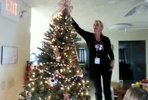 Holiday Decorating / National Charity League came to decorate the Day Centers, looks AMAZING! Thank you NCL!!