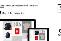 Site Templates, Creative, Portfolio