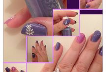 Manicure-fun!  / Just me trying to learn how to make fun, beautiful manicures.. ☺