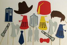Dr Who Engagement Party