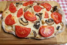 Tartes salées, tourtes et pizzas (vegan)