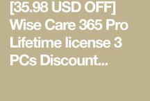 Wise Care 365 Pro Lifetime license 3 PCs