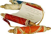 Arabian inspired wedding invite