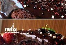 bol soslu cikolatali kek