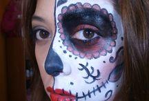 yo / mi maquillaje :)