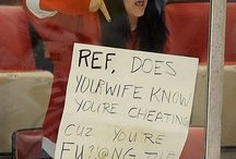 Hockey signs