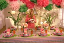 Party - Tablescapes / by Heather Bell