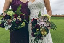 Fall Bouquets / A collection of wedding and bridal bouquet designs inspired by the Fall season.