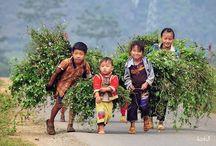 montagne du nord du vietnam