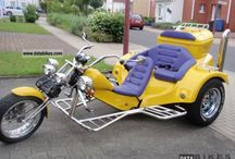 Motorcycle trike / by Guy Smith