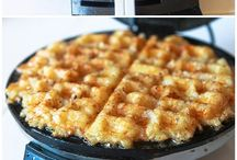 Waffle iron recipes / by JoyJoy