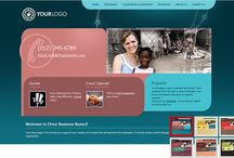 NGO Website Templates / by Web Start Today, Inc.