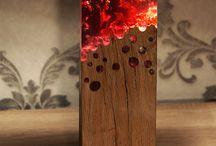 Wood-epoksi-light= Magic !