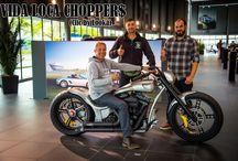 "Softail Harley ""GT"" Designed by Vida Loca Choppers / Softail Harley GT Designed by Vida Loca Choppers in 2009"