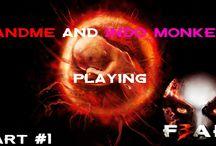 F.E.A.R.3 / F.E.A.R.3 First game with a face game on. With my friend andme.