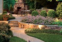 Fireplaces & Other Outdoor Spaces / by Mary Shawn Seaborn