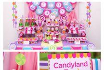 Baby girl birthday ideas / Pink. Cute. Pretty. Princess.