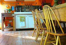 my orange kitchen