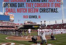Opening Day / No one celebrates the start of baseball season like Reds fans.