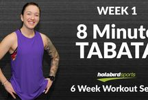 "Holabird Sports ""6 Week Workout Series"" / Every Wednesday for 6 weeks, starting on January 4th, 2017, we'll bring you a different type of workout from HIIT to Barre to Boxing conditioning! You can do each workout at home, so don't worry about needing equipment or a bunch of space. Subscribe to our YouTube Channel (www.youtube.com/user/HolabirdSports) and take the pledge to stay healthy and active in 2017 by joining us!"