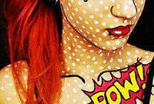 Pop art / Make up