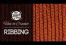 crochet stitches videos