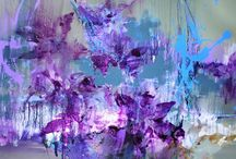 Contemporary Paintings by Tom Potocki / abstract paintings