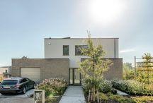 lage-energiewoning in Grimbergen / Moderne architectuur