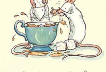 Мыши иллюстрация