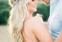 Hair Pins (Engagement and wedding pics)
