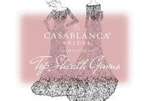 sheath gowns / Slinky, Sheath, Sophisticated wedding gowns! / by Casablanca Bridal