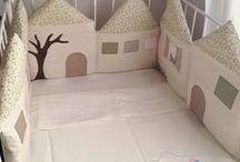 protecção de cama de bebé