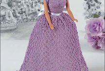 crochet dresses for dolls