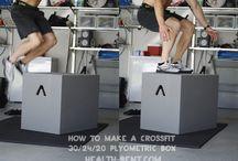 DIY at home gym / by Jenae Huckins