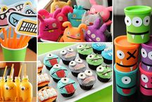 Monster Party Ideas / Ideas to help me plan the boys 1st birthday. . .a monster theme to go with the supercute monster artwork I got here: http://www.mygrafico.com/index.php?_a=viewAff&affId=113 ($5 for license. . .and I didn't have to be a d-bag and steal it)