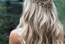 Boho hair for shoot