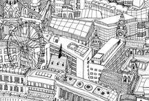 Illustration / by Taku Uemura