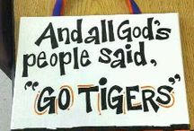 Tiger Pride!!   / by Chelsey Suttles