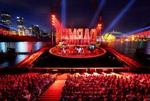 The BOX Seat at Sydney Harbour / The BOX Seat 901 & 903 models installed for the audience of a knock-out production of 'Carmen' on Sydney Harbour.