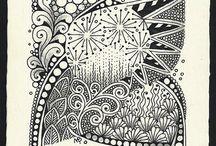 ART...Zentangle by Margaret Bremner