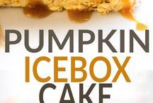 prep 哈  pumpkin cake